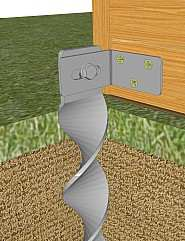 Ground Anchors For Hammering In No Concrete Needed