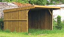 Field shelter.. Click here for more info on anchoring a feld shelter