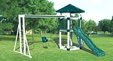Playground. Click image for details of securing play equipment