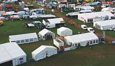 Typical agricultural show. Click for info on JF anchors suitable for trade shows